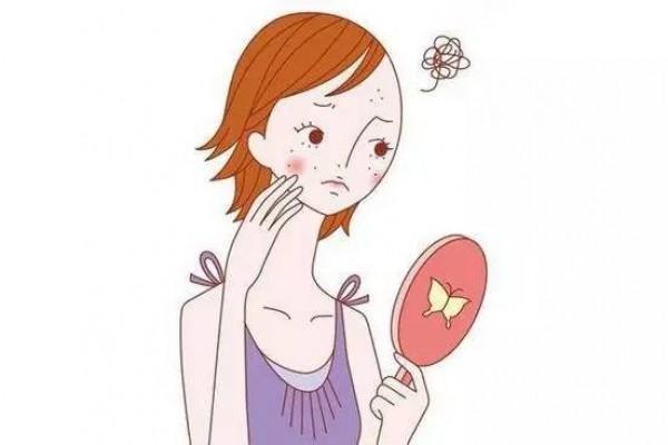 健康自查:不同位置长斑,小心预示不同的疾病